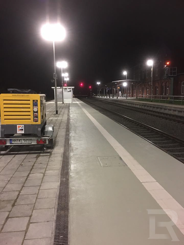 Deutsche Bahn-Bahnhof Plaue
