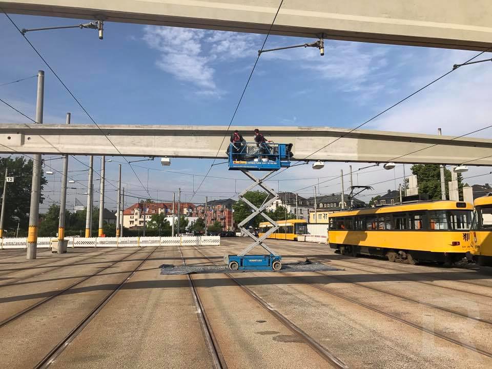 DVB Straßenbahnhof Dresden