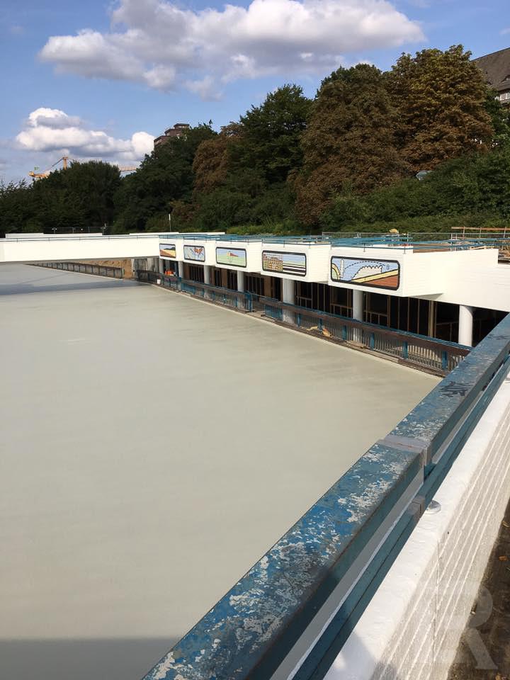 Hamburg Eisbahn Planten un Blomen